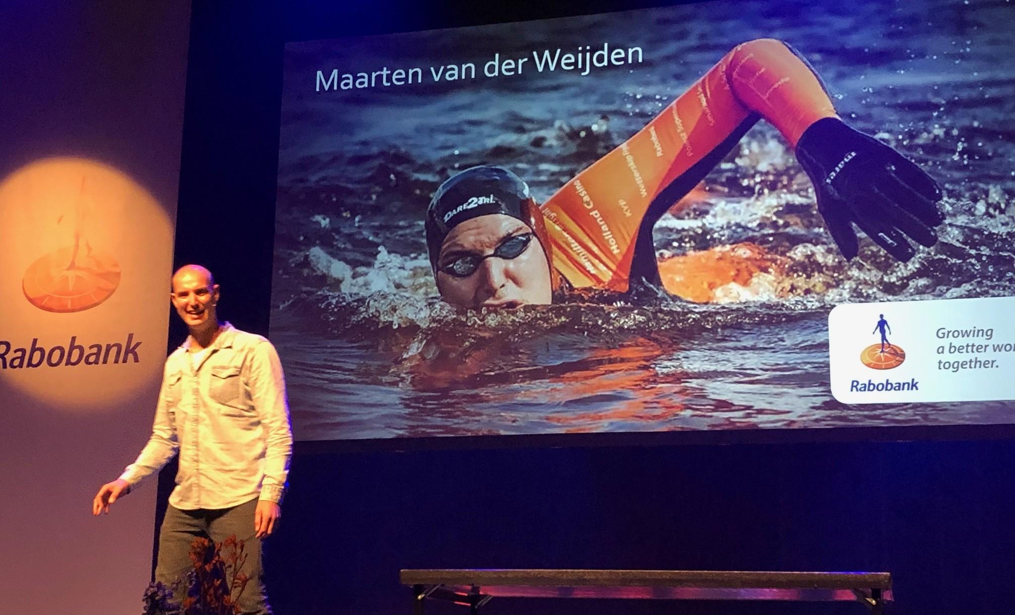 Maarten van der Weijden tijdens Rabo Clubsupport 2019 in DNK